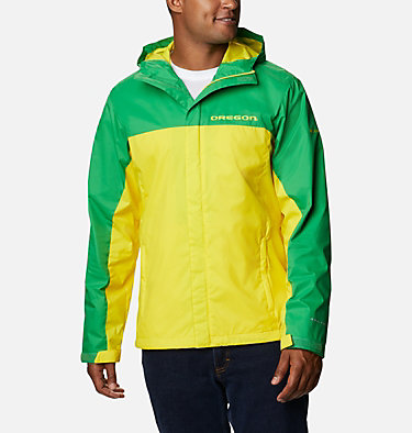 Men's Collegiate Glennaker Storm™ Jacket - Oregon CLG Men's Glennaker Storm™ Jac | 346 | L, UO - Fuse Green, Yellow Glo, front