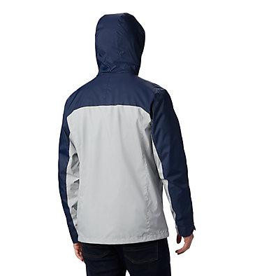 Men's Collegiate Glennaker Storm™ Jacket - Auburn CLG Men's Glennaker Storm™ Jacket   464   S, AUB - Collegiate Navy, Columbia Grey, back