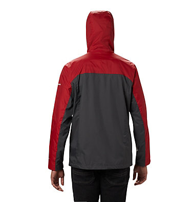 Men's Collegiate Glennaker Storm™ Jacket - Alabama CLG Men's Glennaker Storm™ Jacket | 678 | M, ALA - Red Velvet, Dark Grey, back