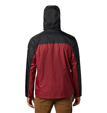 Men's Collegiate Glennaker Storm™ Jacket - Florida State CLG Men's Glennaker Storm™ Jacket | 787 | XXL, FSU - Black, Cabernet, back