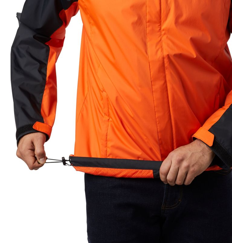 CLG Men's Glennaker Storm™ Jacket | 975 | XXL Men's Collegiate Glennaker Storm™ Jacket - Oregon State, OSU - Black, Tangy Orange, a3
