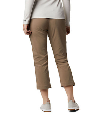 Women's Gavin Ridge™ Pull-On Cargo Capri Gavin Ridge™ Pull On Cargo Capri | 240 | XS, Ash Brown, back