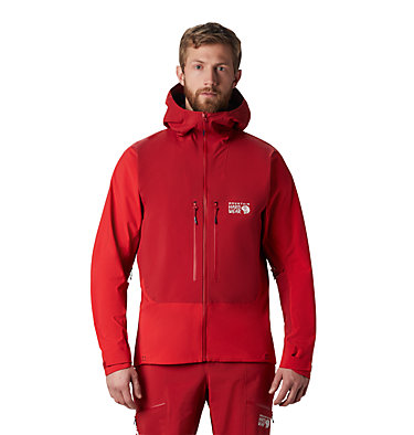 Men's Exposure/2™ Gore-Tex® Pro Jacket Exposure/2™ Gore-Tex Pro Jacket   750   L, Dark Brick, front