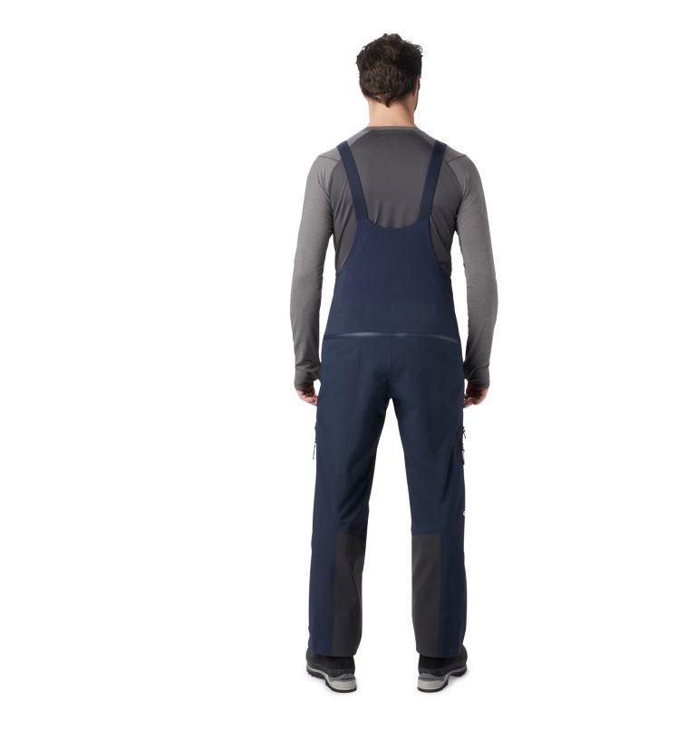 Exposure/2™ Gore-Tex Pro Bib | 406 | XL Men's Exposure/2™ Gore-Tex Pro Bib, Dark Zinc, back