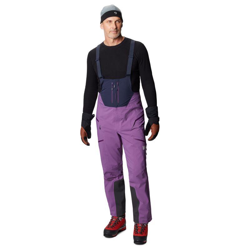 Exposure/2™ Gore-Tex Pro Bib | 502 | M Men's Exposure/2™ Gore-Tex Pro Bib, Cosmos Purple, a9