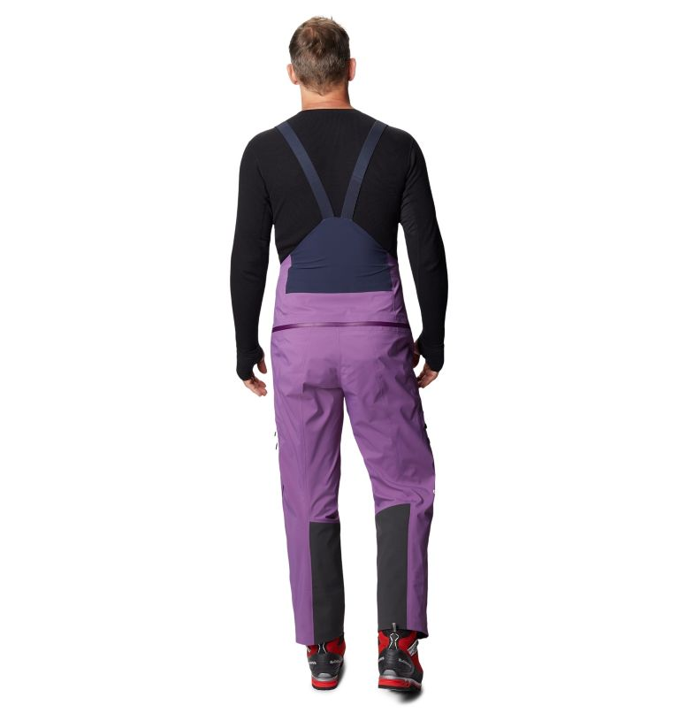 Exposure/2™ Gore-Tex Pro Bib | 502 | XL Men's Exposure/2™ Gore-Tex Pro Bib, Cosmos Purple, back