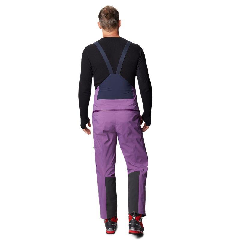 Exposure/2™ Gore-Tex Pro Bib | 502 | M Men's Exposure/2™ Gore-Tex Pro Bib, Cosmos Purple, back