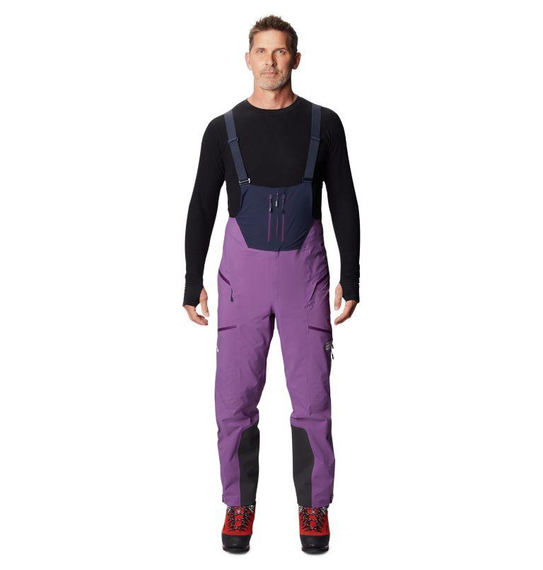 Exposure/2™ Gore-Tex Pro Bib | 502 | M Men's Exposure/2™ Gore-Tex Pro Bib, Cosmos Purple, front