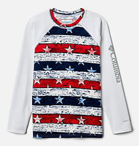 Kids' Vista Brook™ Printed Long Sleeve Shirt