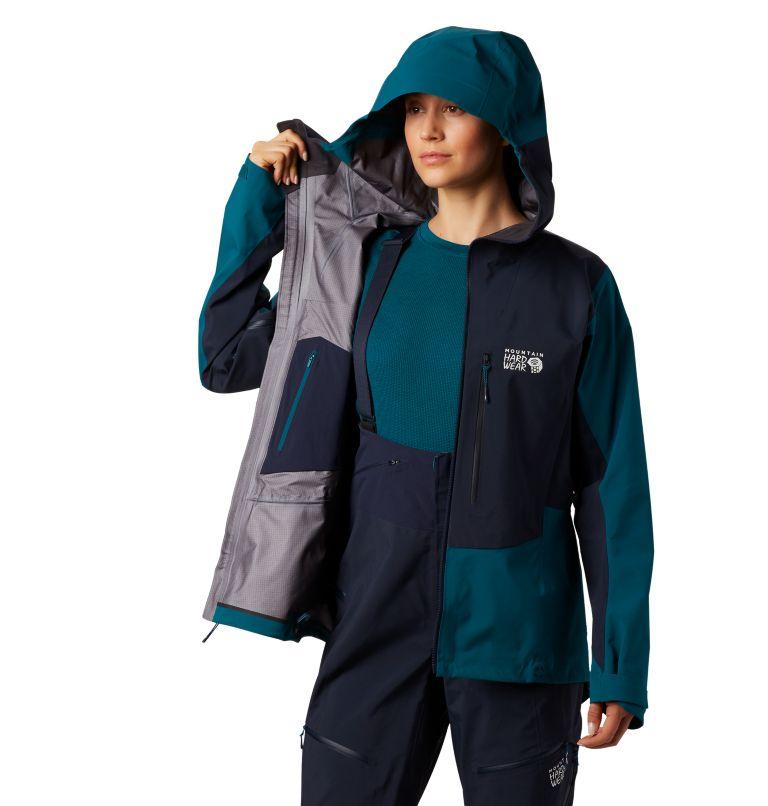 Exposure/2™ Gore-Tex® Pro Jacket | 468 | XS Women's Exposure/2™ Gore-Tex® Pro Jacket, Dive, a3