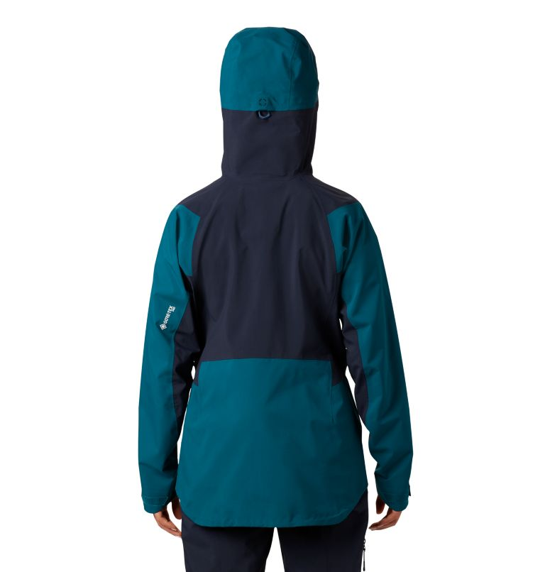 Exposure/2™ Gore-Tex® Pro Jacket | 468 | L Veste Exposure/2™ Gore-Tex® Pro Femme, Dive, back