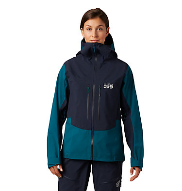 Women's Exposure/2™ Gore-Tex® Pro Jacket Exposure/2™ Gore-Tex® Pro Jacket | 468 | L, Dive, front