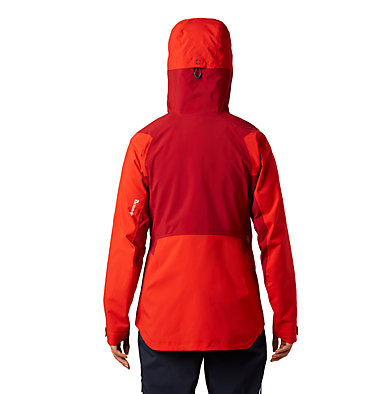 Women's Exposure/2™ Gore-Tex® Pro Jacket Exposure/2™ Gore-Tex® Pro Jacket | 468 | L, Fiery Red, back