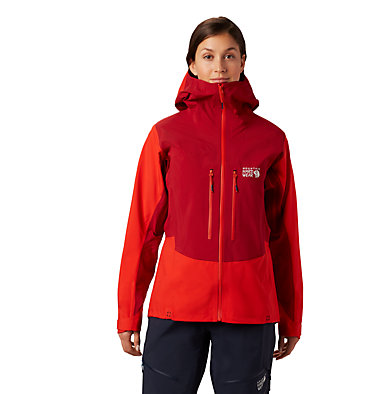 Women's Exposure/2™ Gore-Tex® Pro Jacket Exposure/2™ Gore-Tex® Pro Jacket | 468 | L, Fiery Red, front