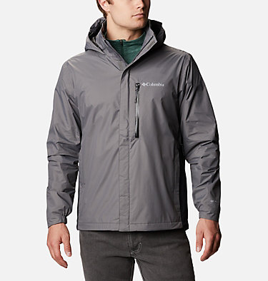 Men's Puddletown™ Jacket M Puddletown™ Jacket | 483 | M, City Grey, Black, front