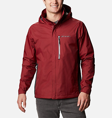 Men's Puddletown™ Jacket M Puddletown™ Jacket | 483 | M, Red Jasper, Shark, front
