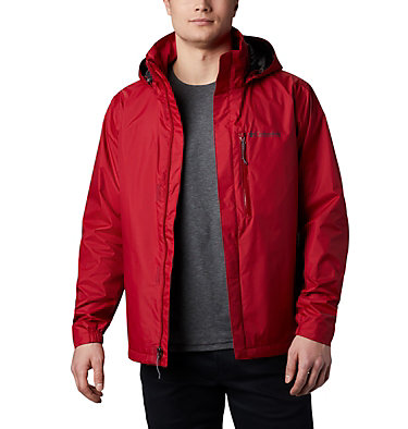 Men's Puddletown™ Jacket M Puddletown™ Jacket | 483 | M, Red Velvet, Shark, front