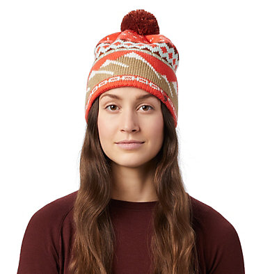 Women's MtnScape™ Beanie MtnScape™ Beanie | 356 | O/S, Sweet Chili, front