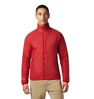 Men's Kor Strata Jacket Kor Strata Jacket | 012 | L, Dark Brick, front