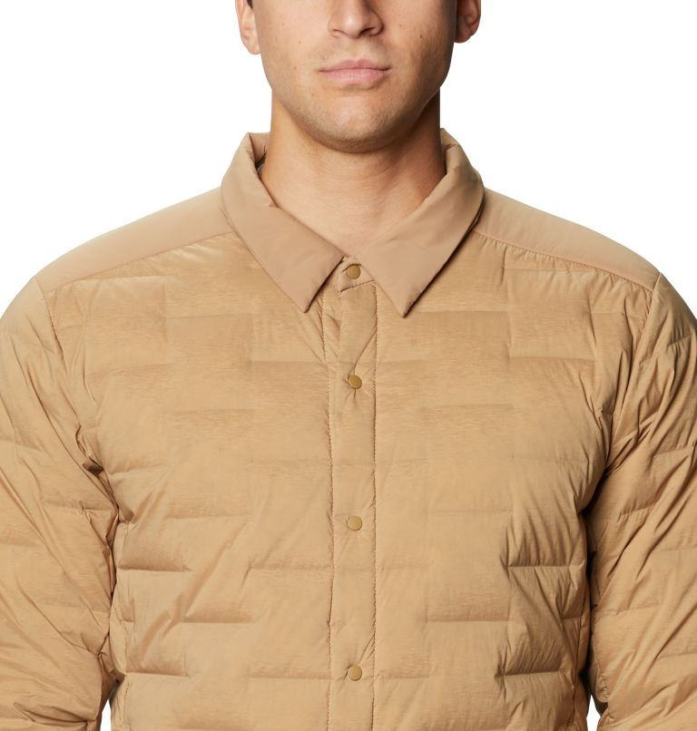 Super/DS™ Climb Shacket | 254 | M Men's Super/DS™ Stretchdown Climb Shacket, Sandstorm, a2