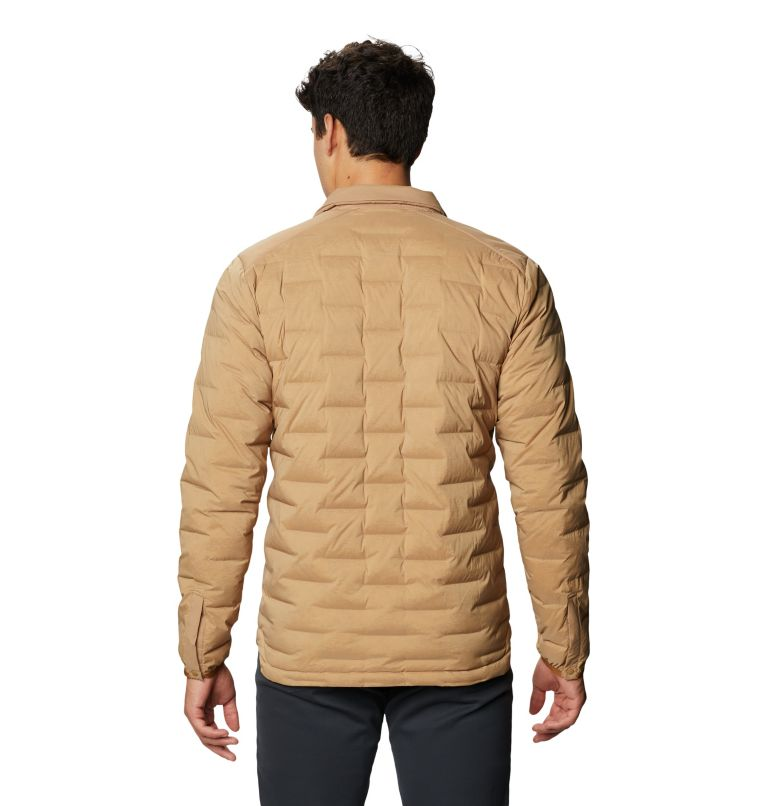 Super/DS™ Climb Shacket | 254 | M Men's Super/DS™ Stretchdown Climb Shacket, Sandstorm, back