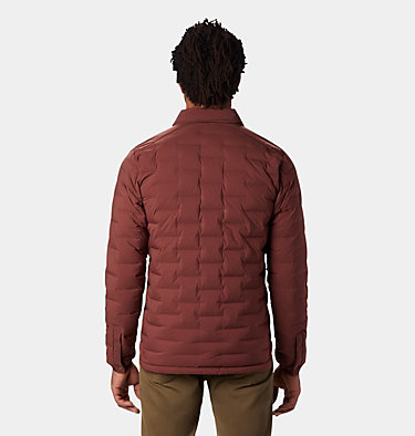 Men's Super/DS™ Climb Shacket Super/DS™ Climb Shacket | 254 | L, Dark Umber, back