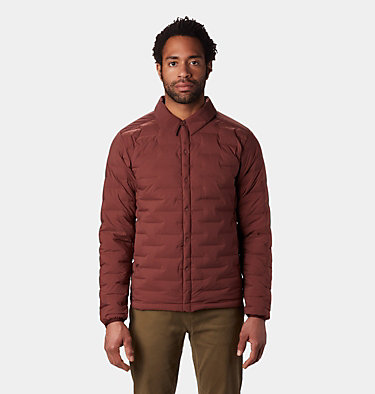 Men's Super/DS™ Climb Shacket Super/DS™ Climb Shacket | 254 | L, Dark Umber, front