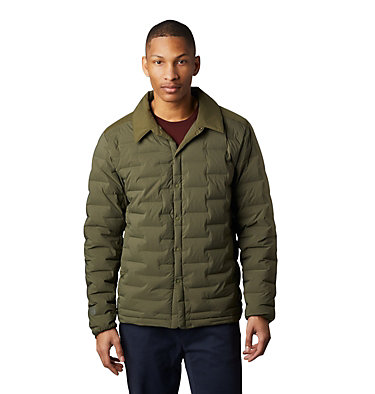 Men's Super/DS™ Climb Shacket Super/DS™ Climb Shacket | 254 | L, Dark Army, front