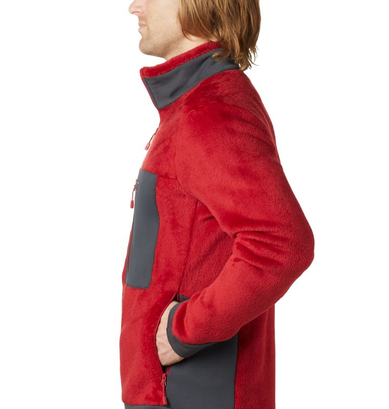 Monkey Fleece™ Jacket | 603 | XL Men's Polartec® High Loft™ Jacket, Dark Brick, a1