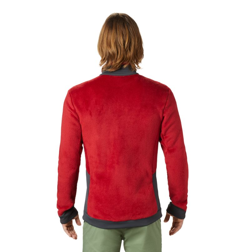 Monkey Fleece™ Jacket | 603 | XL Men's Polartec® High Loft™ Jacket, Dark Brick, back