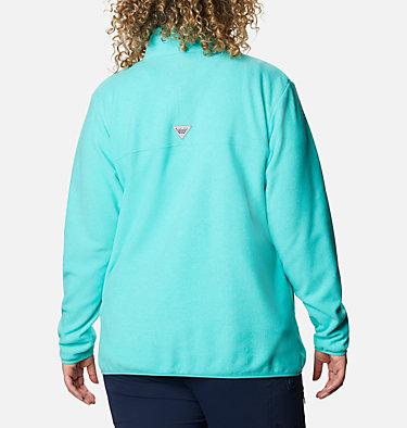 Women's Harborside™ II Fleece Pullover - Plus Size W Harborside™ II Fleece PO | 356 | 2X, Dolphin Heather, back
