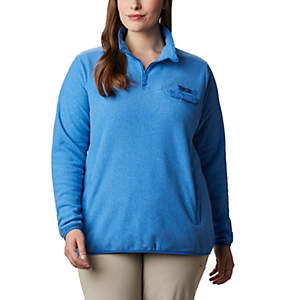 Women's Harborside™ II Fleece Pullover - Plus Size