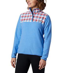 Women's Harborside™ II Overlay Fleece Pullover