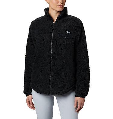 Women's Harborside™ II Heavy Weight Fleece Full Zip W Harborside™ II Heavy Weight Fleece FZ | 031 | XXL, Black, front