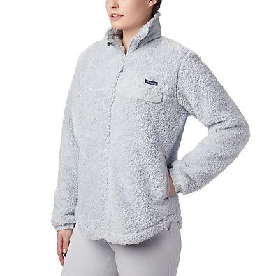 Women's Harborside™ II Heavy Weight Fleece Full Zip W Harborside™ II Heavy Weight Fleece FZ | 031 | XXL, Cirrus Grey, front