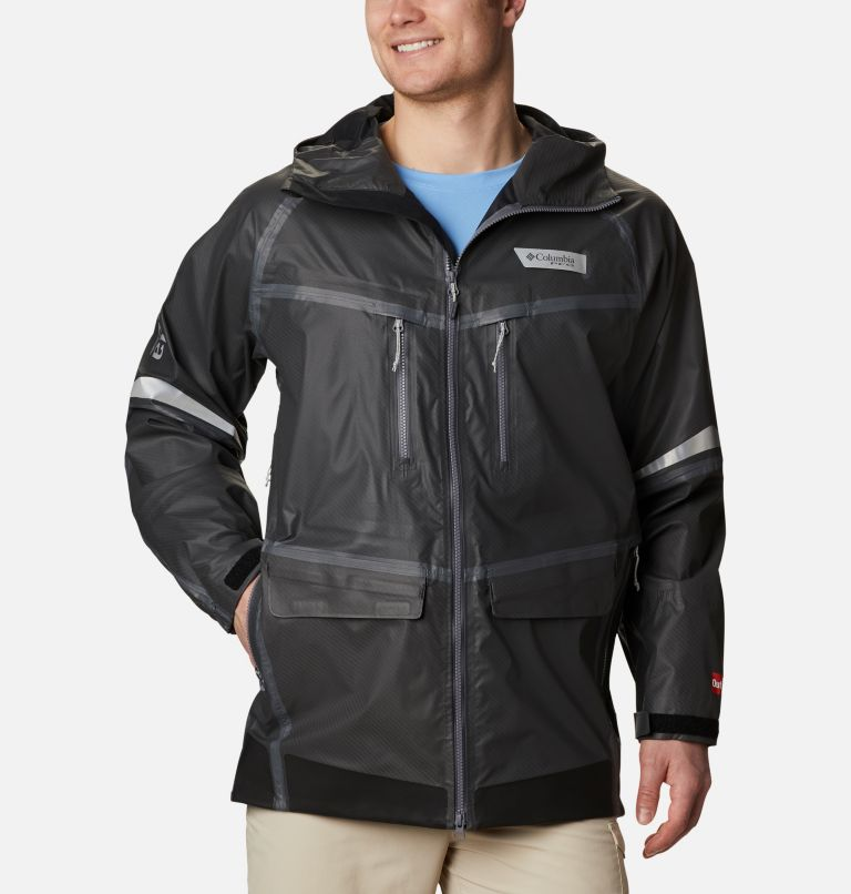 Force XII™ ODX Jacket | 011 | XXL Men's PFG Force XII™ OutDry™ Extreme Jacket, Carbon Fiber, front