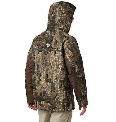 Men's PHG Trophy Rack™ Omni-Heat™ 3D Hooded Jacket Trophy Rack™ OH3D Hooded Jacket | 903 | L, Realtree Timber, back