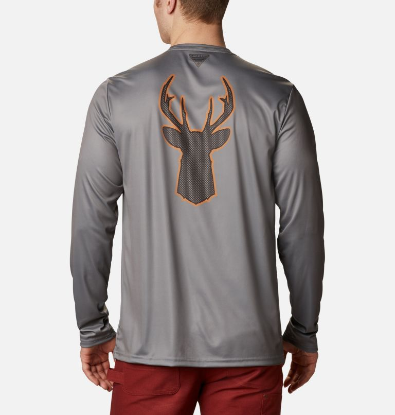 Men's PHG™ Terminal Shot Graphic Long Sleeve Shirt Men's PHG™ Terminal Shot Graphic Long Sleeve Shirt, front