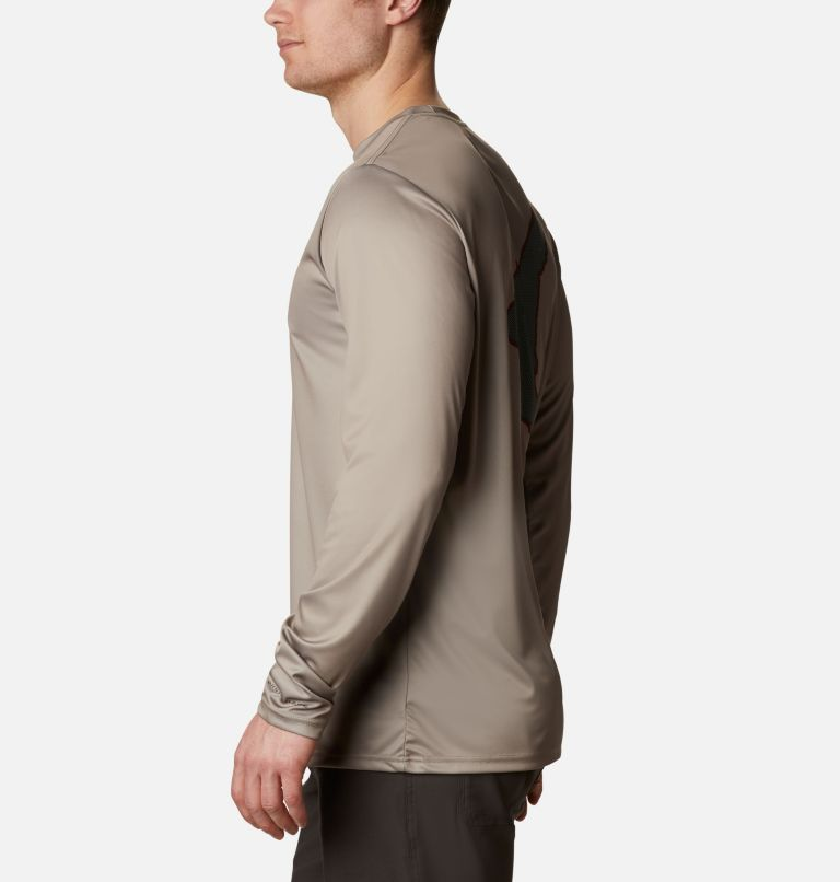 PHG™ Terminal Shot Graphic LS | 252 | L Men's PHG™ Terminal Shot Graphic Long Sleeve Shirt, Flax, Duck, a1