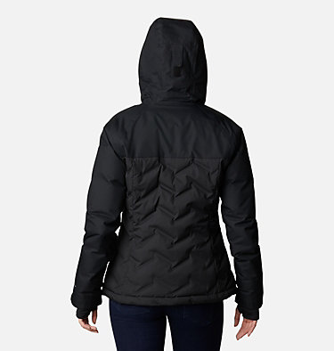 Women's Grand Trek™ Down Hooded Jacket Grand Trek™ Down Jacket | 619 | XL, Black, back