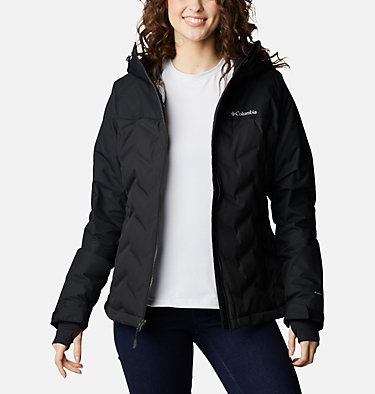 Women's Grand Trek™ Down Hooded Jacket Grand Trek™ Down Jacket | 619 | XL, Black, front