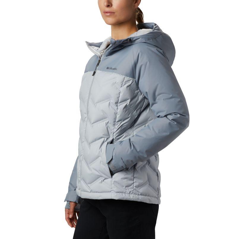 Grand Trek™ Down Jacket | 031 | L Women's Grand Trek™ Down Hooded Jacket, Cirrus Grey, Tradewinds Grey, a1