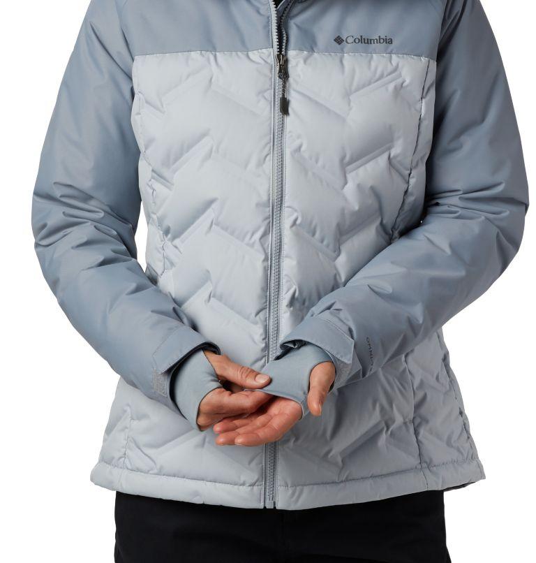 Grand Trek™ Down Jacket | 031 | L Women's Grand Trek™ Down Hooded Jacket, Cirrus Grey, Tradewinds Grey, a2