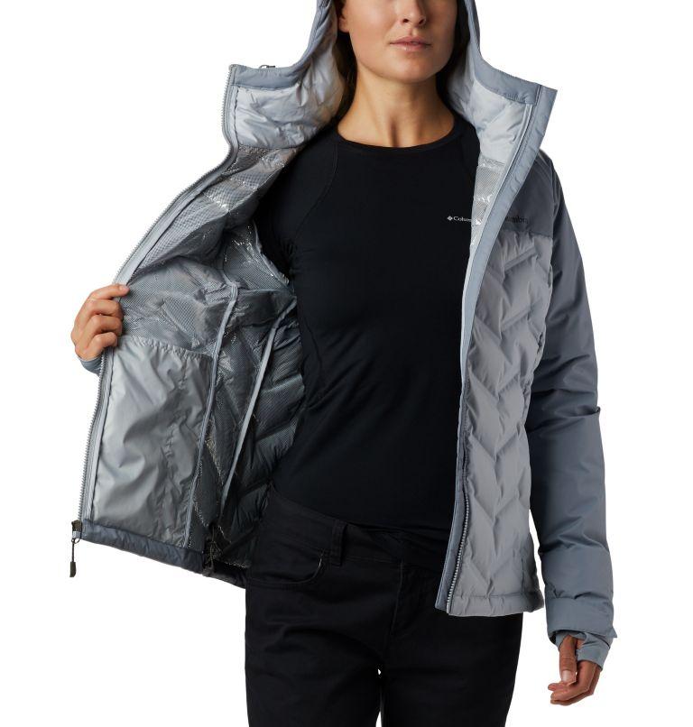 Grand Trek™ Down Jacket | 031 | L Women's Grand Trek™ Down Hooded Jacket, Cirrus Grey, Tradewinds Grey, a3