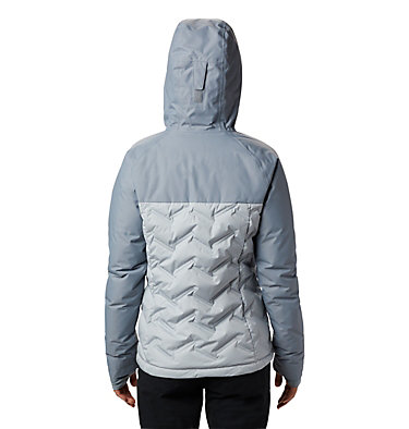 Women's Grand Trek™ Down Hooded Jacket Grand Trek™ Down Jacket | 619 | XL, Cirrus Grey, Tradewinds Grey, back
