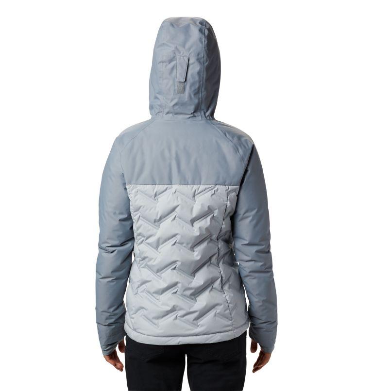 Grand Trek™ Down Jacket | 031 | L Women's Grand Trek™ Down Hooded Jacket, Cirrus Grey, Tradewinds Grey, back