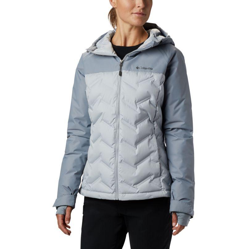 Grand Trek™ Down Jacket | 031 | L Women's Grand Trek™ Down Hooded Jacket, Cirrus Grey, Tradewinds Grey, front