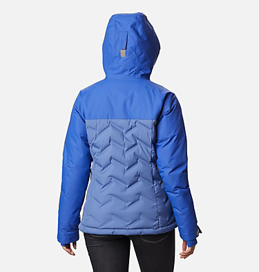 Women's Grand Trek™ Down Hooded Jacket Grand Trek™ Down Jacket | 619 | XL, Velvet Cove, Lapis Blue, back