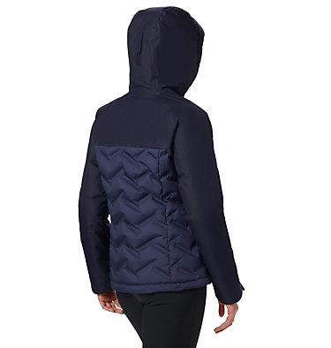 Women's Grand Trek™ Down Hooded Jacket Grand Trek™ Down Jacket | 619 | XL, Nocturnal, Dark Nocturnal, back