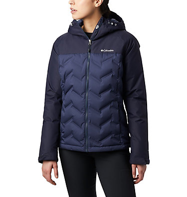 Women's Grand Trek™ Down Hooded Jacket Grand Trek™ Down Jacket | 619 | XL, Nocturnal, Dark Nocturnal, front